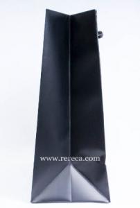 黒ベタ紙袋パターン4マチ
