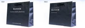 紙袋の別案(ロゴ小、左揃え)