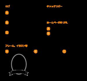ロゴとフレーム素材 0707